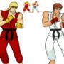 Ken and Ryu by AcosLolA