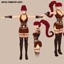 Character Sheet - Kassia by RasComics