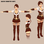 Character Sheet - Kaleen by RasComics