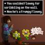 Flowey is an ass (Undertale fan art) by Grimjack-Ripthroat