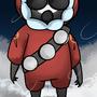 Snowy Pyro by MexicanArmadillo