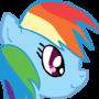 Rainbow Dash by KitsuneSpook