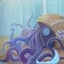 Octopus by PaulaHarris