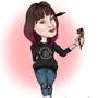 Amy Newlands Digital Caricature