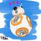 BB-8 color-sketch