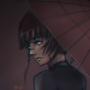 Umbrella Lady by LadyontheMoon