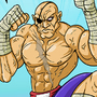 Sagat street fighter tribute by madmeliss