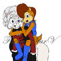 Sally and Third Doctor by Faerie-StarV