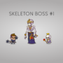 Sceleton Boss for my game by kashur