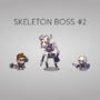 Skeleton Boss for my game by kashur