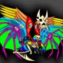 Seraphim!Sans by Steot