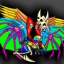 Seraphim!Sans by RainbowDogma