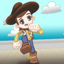 Chibi Woody - FanArt by andresillustra