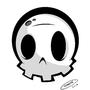 Cartoon Skull by Imrie