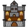 Pixel Castle by ThexxxReaper