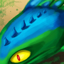 Dragon Portrait by CactusDragon