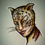 Tiger-cat-like woman :)) by AddaWhite