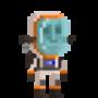 Space Man by chrispyart