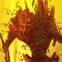 Leaf Golem - speedpainting by BaukjeSpirit