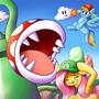 Mario Bros. x MLP Crossover by SimonSteve