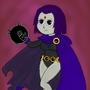 Teen Titans: Raven by BiGEd5