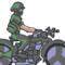 Army Bike - GIF
