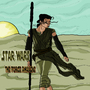 Star Wars the Force Awakens: Rey Tribute by Anti-Gog