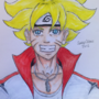 Boruto Uzumaki (Bolt) Drawing by SavageDraws