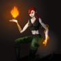 Pyromancer by thiagobm