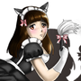 Cat maid by Scar-crow
