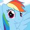 Retired Design: Rainbow Dash