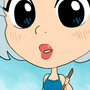 Cutie Sophie Pinup by pickletoez