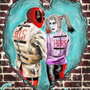 Deadpool and Harley Quinn in love by Andiepd