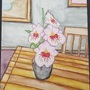 Watercolor Flower Painting by Shinigami77