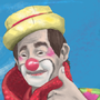 Clown Carequinha by davidwizard