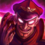M.Bison Insanity by ExCharny