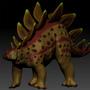 ZBrush Stegosaurus