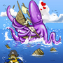Squid Love by Enzil