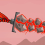 Lava sword by Marklikeart