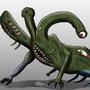 Monster design by BabyFacePlant