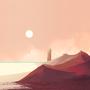 Desert by SeafoamPanda