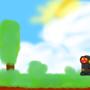 Clouds and guy by SpadetheHedgehog