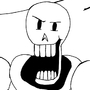 Silly Papyrus wip by TattooedDwarf-Studio