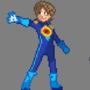 Pixel Art Megaman.EXE by thief9