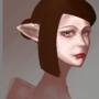 Elf painting WIP by littleyuri