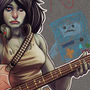 Adventure Time - Marceline Fanart by Cloud-yo