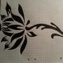 black flower by sascia999