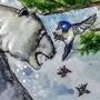 Winter's Last Battle by ArtFromTheHeart