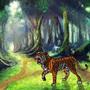 IT'S A FREAKING TIGER!!!! by LittleWolfie