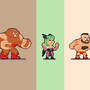 Random fighters by ionrayner